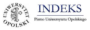 Logo czasopisma Indeks